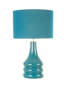 Raj Table Lamp - Teal Blue | Bright Stylish Table Lamp