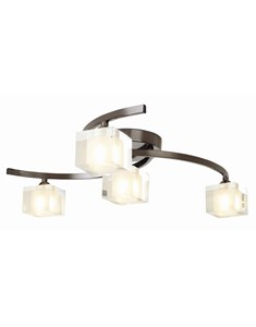 Ice 4 Light Ceiling Fitting - Pewter | Modern Multi Light Fitting