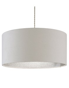 Dazzle Pendant Shade - Cream | Silver Glitter | Dazzling Inner Ceiling Shade