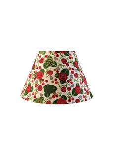 "Julie Dodsworth Strawberry Fair 10"" lampshade"