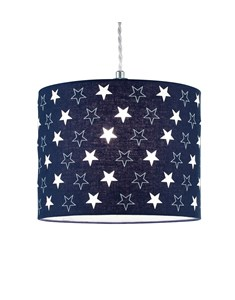 Starry Night Pendant Shade - Navy | Star Ceiling Shade