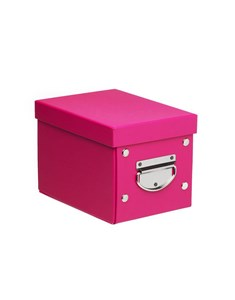 Small Storage Box - Fuchsia Pink | Foldable Storage