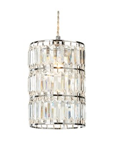Dalio Pendant Shade | Acrylic & Chrome Ceiling Shade