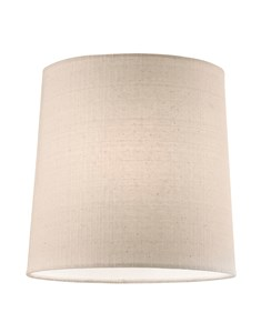 Tapered Cylinder Pendant Shade - Natural | Cottonette Lampshade