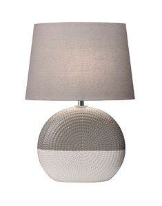 Bassett Table Lamp | Grey Ceramic Table Lamp