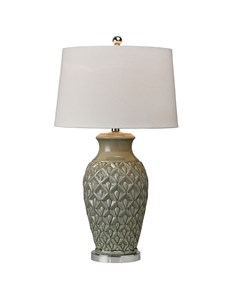 Thistle Table Lamp | Green Ceramic Table Lamp