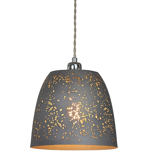 Storm Pendant Shade - Grey