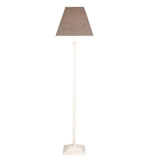 Nelson Floor Lamp - Antique White