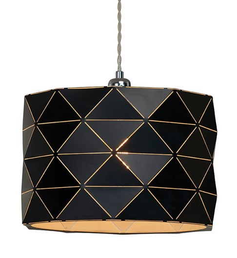 Shadow Pendant Shade - Black