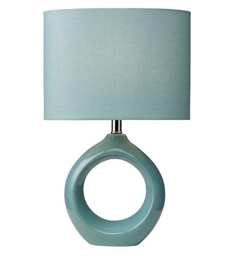 Isla Table Lamp - Powder Blue