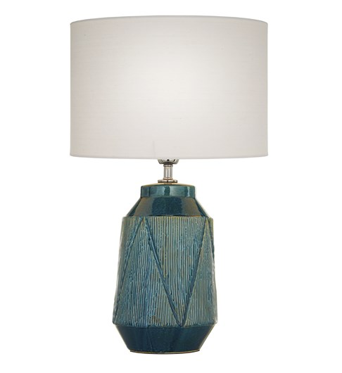 Safi Table Lamp Teal