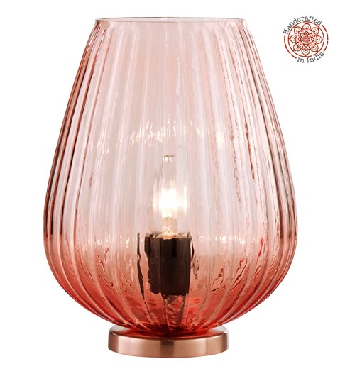 Pari Table Lamp - Blush