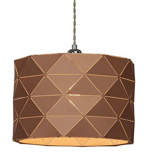 Shadow Pendant Shade - Caramel