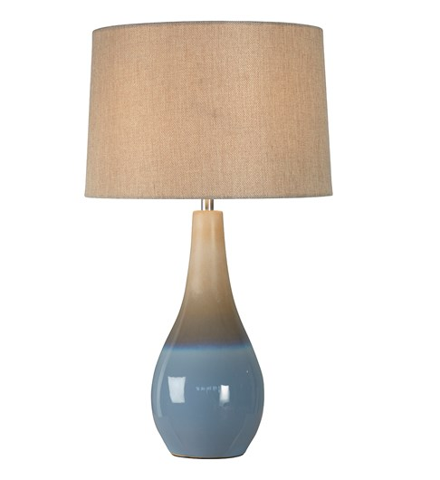 Marcin Table Lamp - Coastal Blue