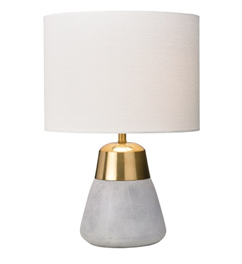 Jasper Gold & Ivory Table Lamp
