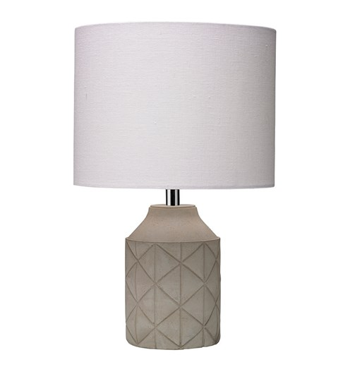 Luca Table Lamp - Grey