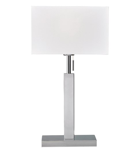 Brooke Table Lamp - White