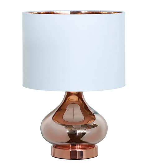 Clarissa Table Lamp - Copper