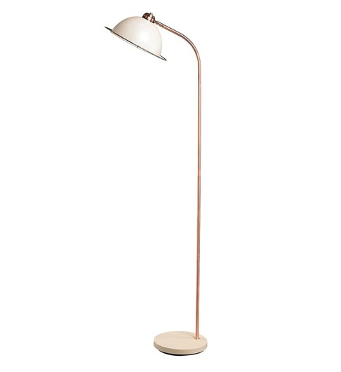 Bauhaus Floor Lamp - Cream