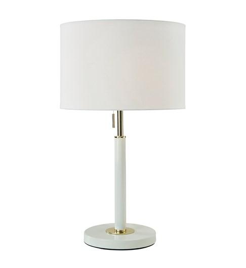 Madaline Table Lamp - Ivory | Gold