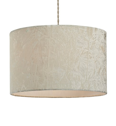 Allura Pendant Shade - Cream