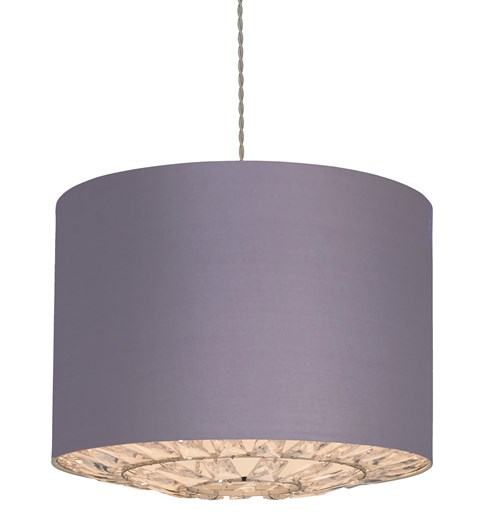 Dallas Pendant Shade - Mauve