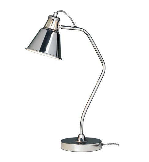Vale Desk Lamp - Chrome