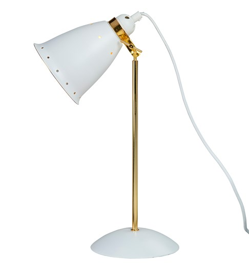 Kafe Deluxe Desk Lamp - White