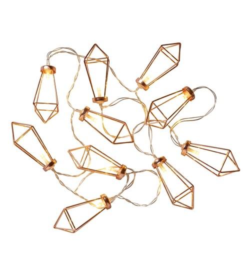 Diamond String Lights