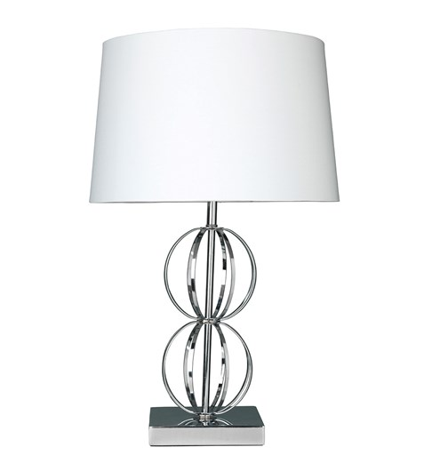 Dexter Table Lamp - Chrome