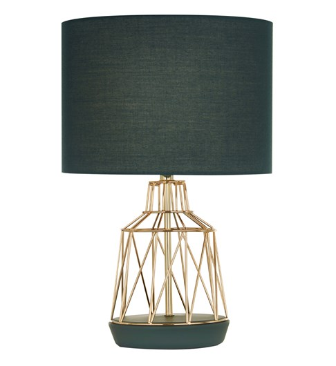 Macaron Table Lamp Emerald