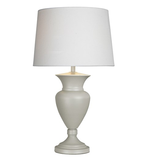 Clarence Table Lamp - French Grey