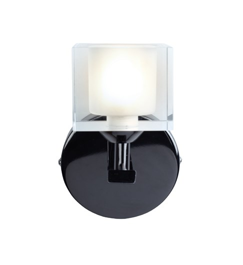 Ice 1 light Wall Light - Pewter