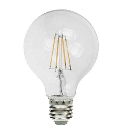 LED Globe Filament Bulb ES-E27 - Clear