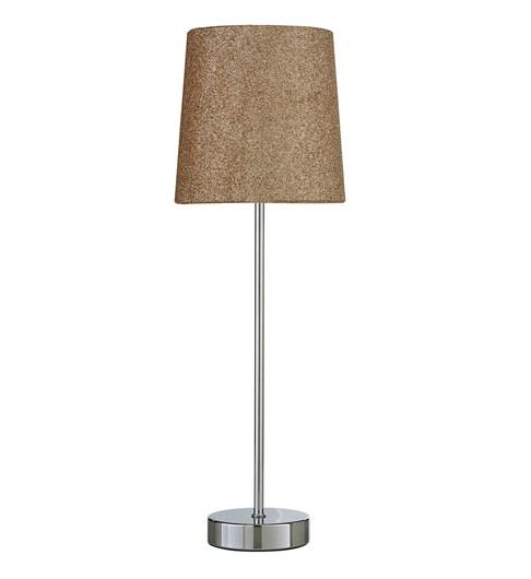 Glitz Tall Stick Table Lamp - Gold