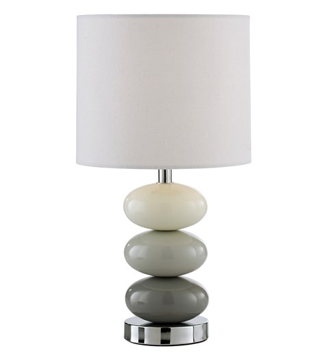 Esme Table Lamp - Grey