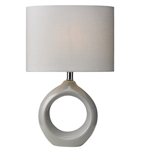 Isla Table Lamp - Soft Grey