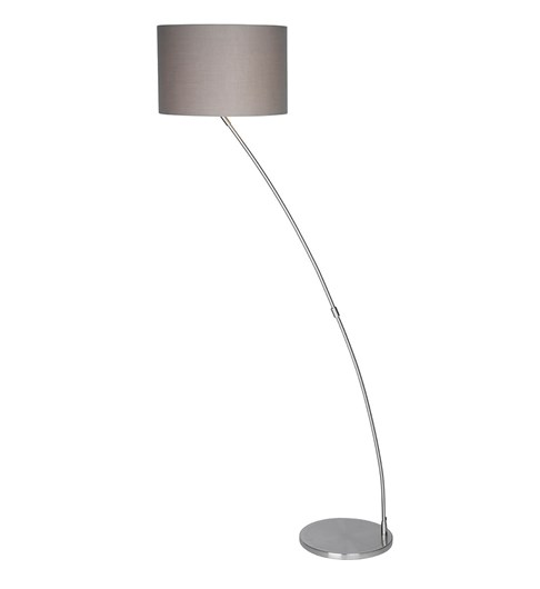 Curve Chrome Floor Lamp