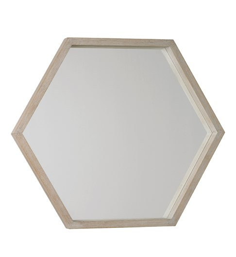 New England Hexagonal Mirror