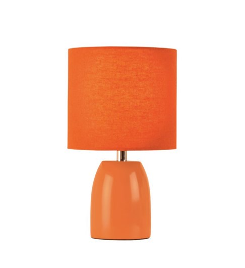 Opal Table Lamp - Burnt Orange