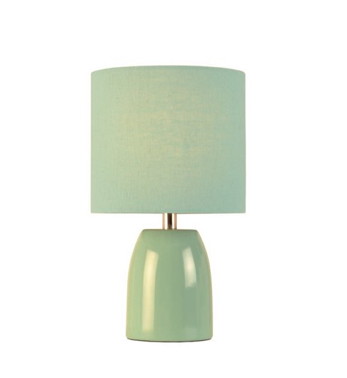 Opal Table Lamp - Aqua Blue