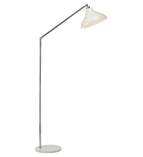 Vintage Floor Lamp - Cream
