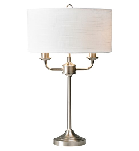 Grantham Table Lamp - Satin Nickel