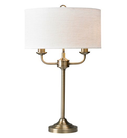 Grantham Table Lamp - Antique Brass