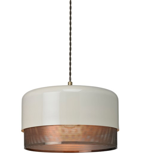 Emilio Large Pendant Shade - Copper