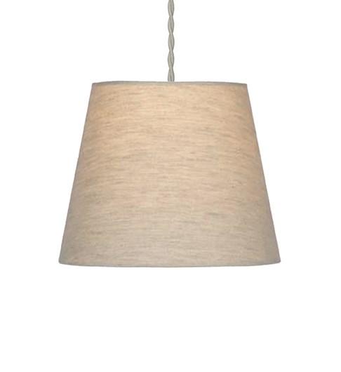 Linen Effect Plain shade - Oatmeal