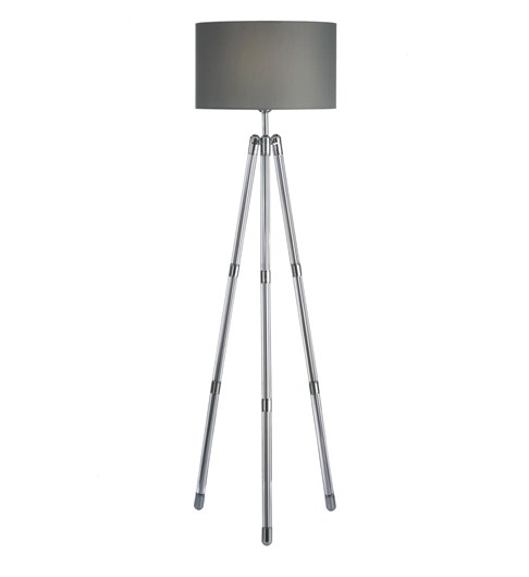 Hudson Crystal Floor Lamp