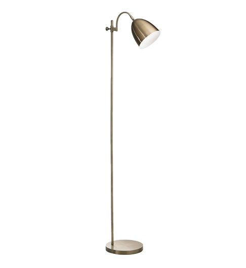 Seb Floor Lamp | Antique Brass