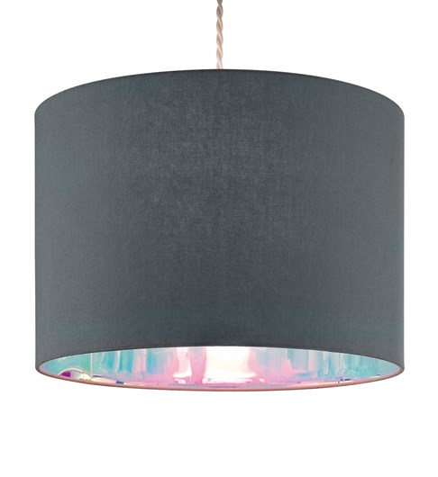 Dessi Pendant Shade - Grey