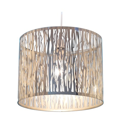 Donez Pendant Shade - Chrome
